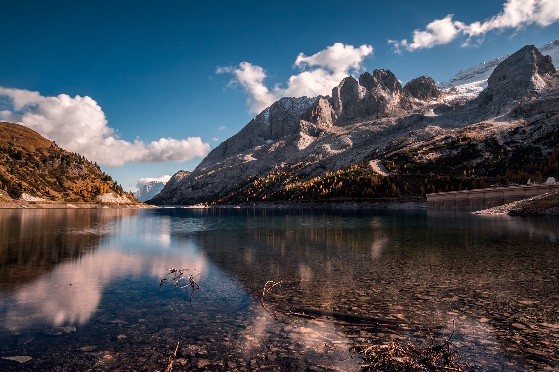 Stageart góry i jezioro