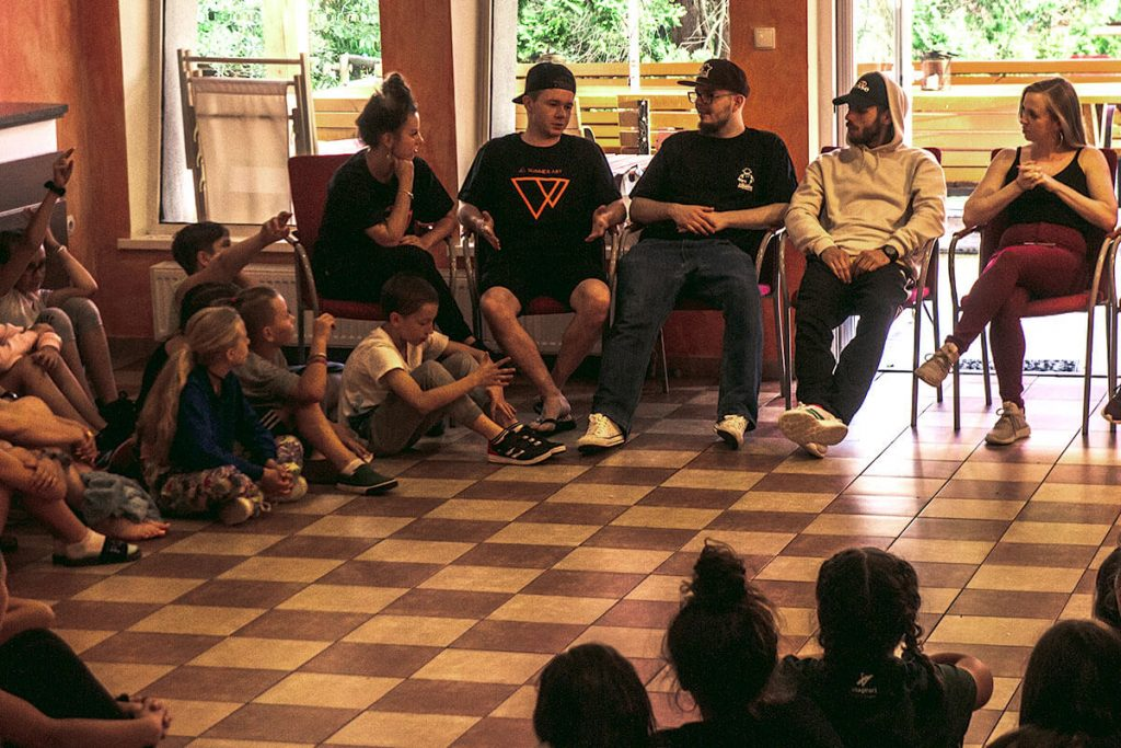 panel dyskusyjny na obozie summerart