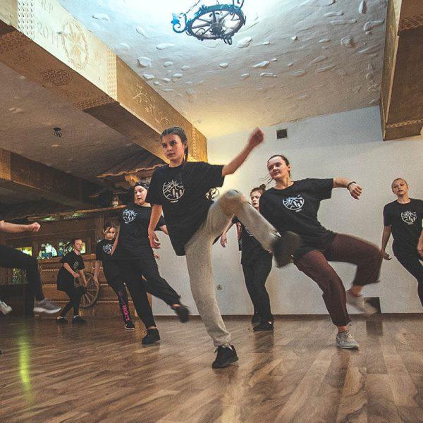 warsztaty taneczne z hip hopu